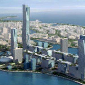 megaprojekt East King Abdullah Economic City v Saudskej Arábii