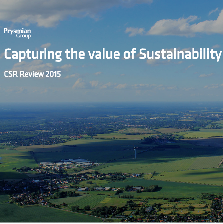 Sustainability Report Minisite 2015