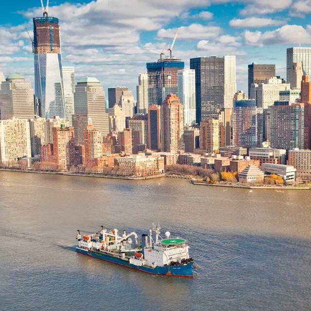 Svetlá na Manhattane, elektrina z NewJersey