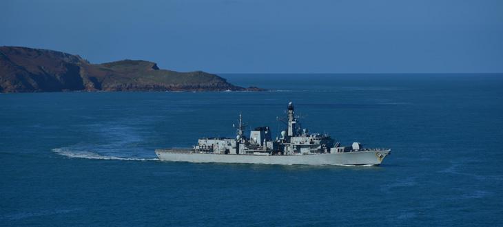 Káble pre vojenské námorníctvo