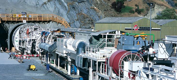 Káble pre tunelovacie zariadenia