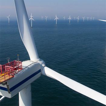 Priekopníci v projektoch veterných elektrární na mori