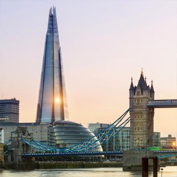 Londýnsky mrakodrap The Shard: majestátna veža svetla, s energiou z našich káblov