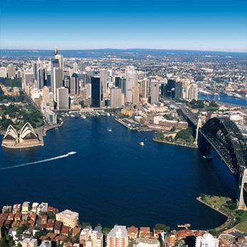 Kombinovaná sieť, ktorá pokrýva celú Austráliu