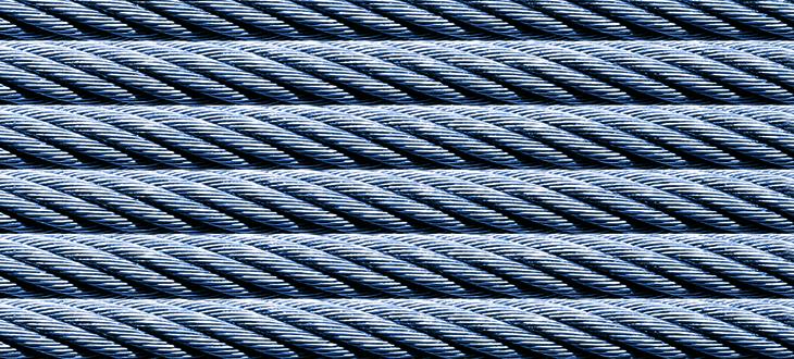 Oceľové laná,  kompenzačné káble  a príslušenstvo